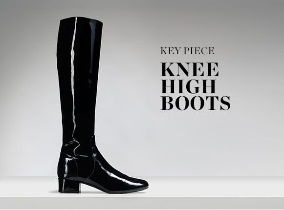 KEY PIECE: KNEE HIGH BOOTS