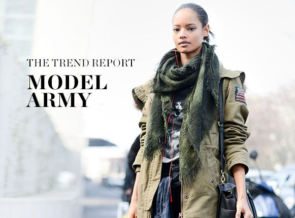 THE TREND REPORT: MODEL ARMY