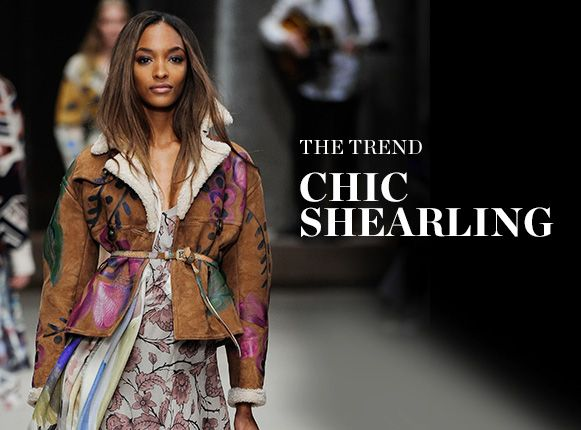 THE TREND: CHIC SHEARLING