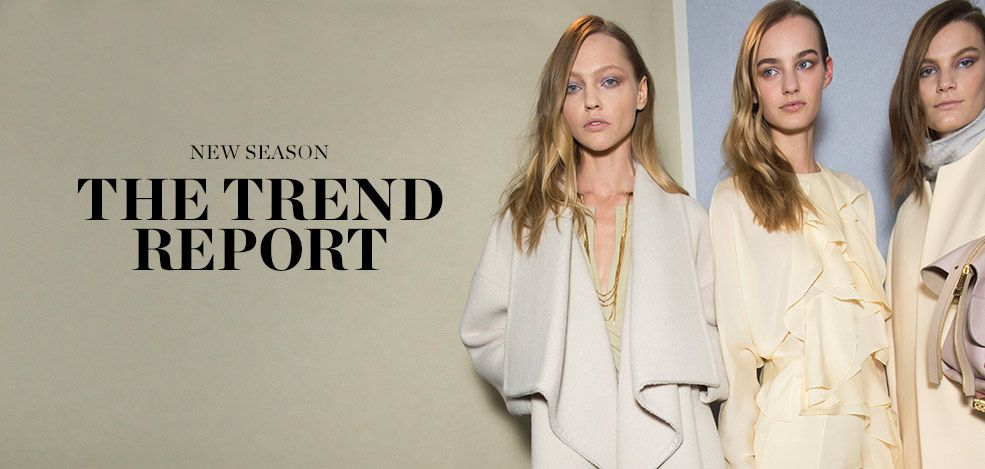 NEW SEASON: THE TREND REPORT