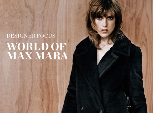 DESIGNER FOCUS: WORLD OF MAXMARA