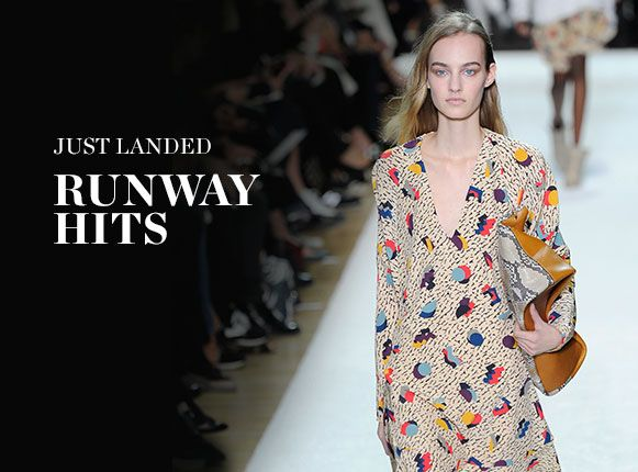 JUST LANDED: RUNWAY HITS