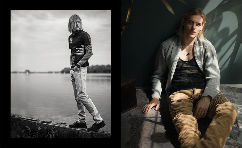 The Shoot The 1990s Grunge Trend Matchesfashion Com