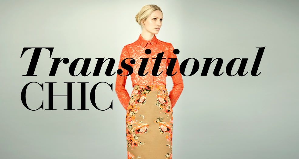 New Transitional Chic