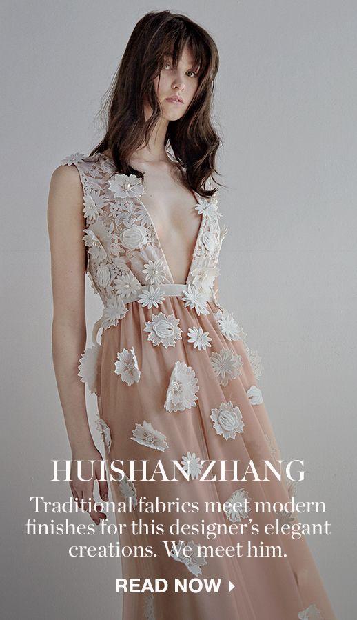 ZOOM SUR : HUISHAN ZHANG