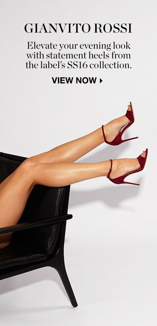THE SHOOT: THE ART OF THE HEEL GIANVITO ROSSI