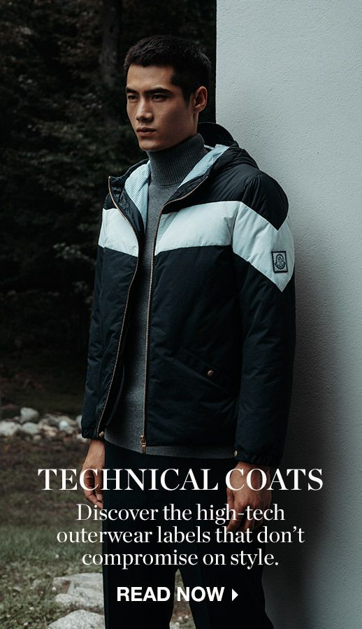STYLE OPINION: TECHNICAL COATS