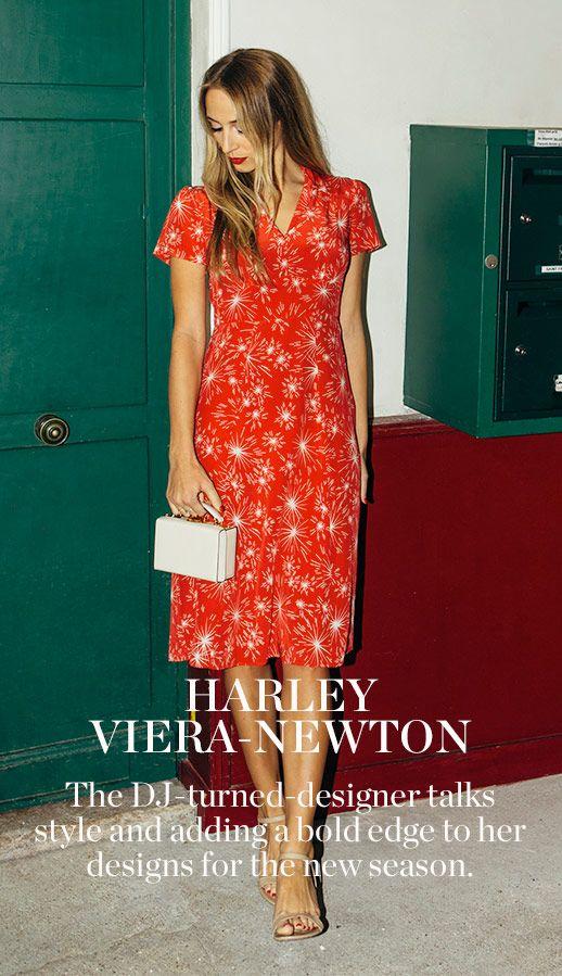 MY FASHION LIFE: HARLEY VIERA-NEWTON