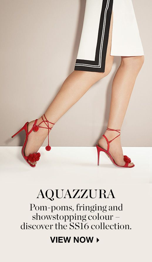THE SHOOT: AQUAZZURA'S SPRING HITS