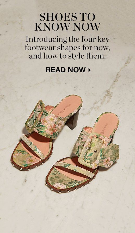 HOW TO WEAR: NEW-SEASON SHOES
