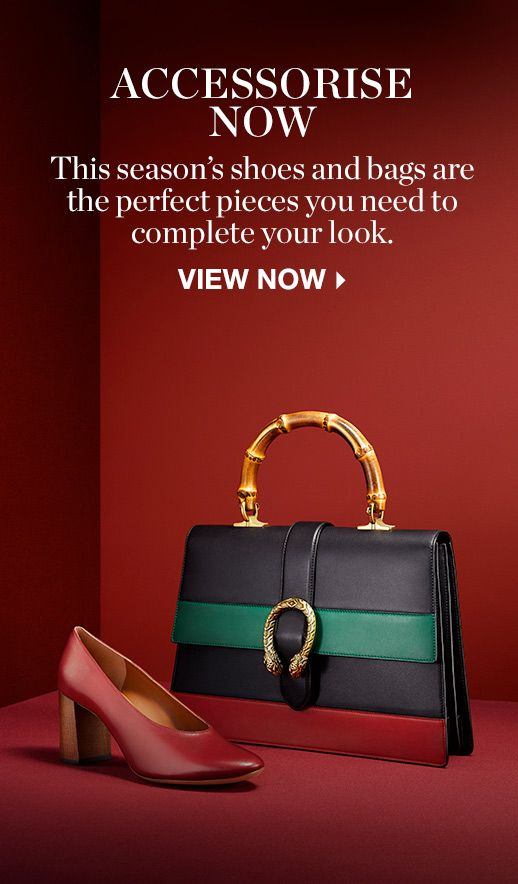 THE SHOOT: ACCESSORISE NOW