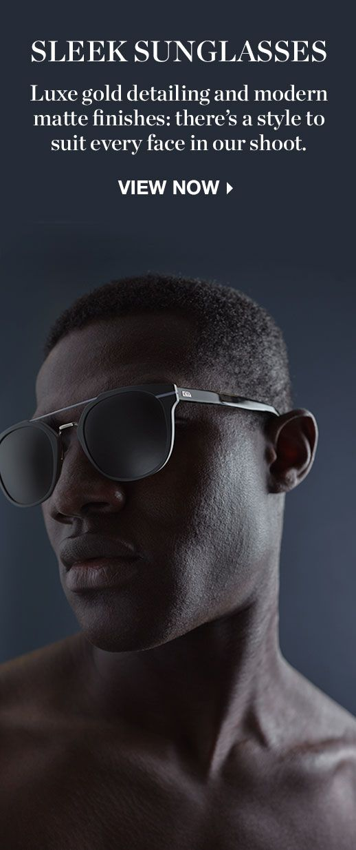 THE SHOOT: SLEEK SUNGLASSES