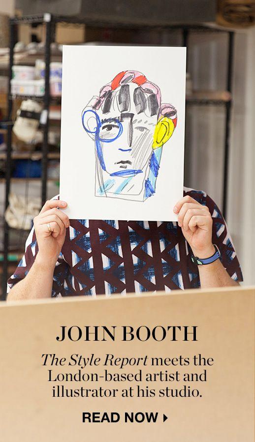 MY DESK: JOHN BOOTH