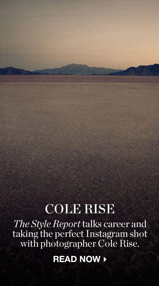 THE CONVERSATION: COLE RISE
