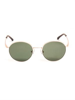 Copper round sunglasses