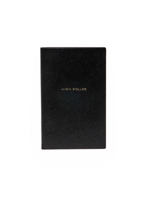 High roller Panama leather notebook