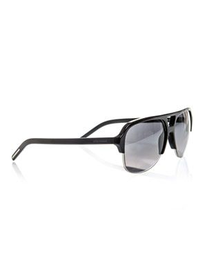Combination aviator sunglasses