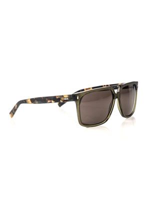 Square camouflage sunglasses