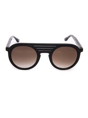 X Melinda Gloss round-frame sunglasses
