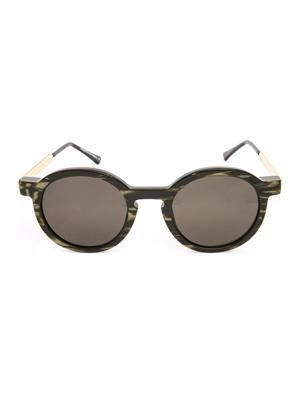 Sobriety round-framed sunglasses