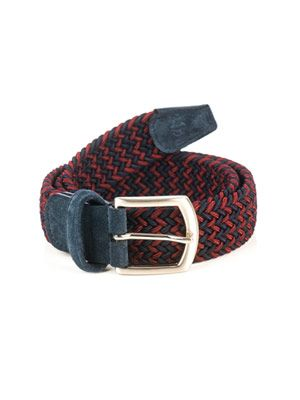Elasticated woven belt
