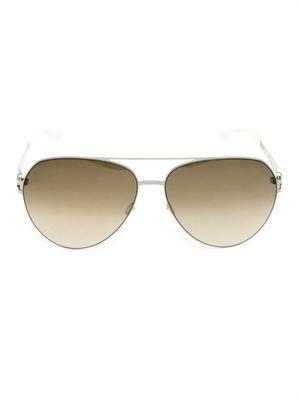 Sly lightweight aviator-style sunglasses