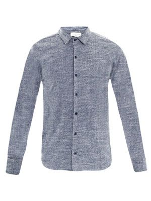 Valley jersey-fleece shirt