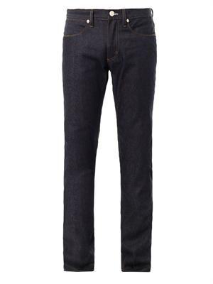 Max Raw straight-leg jeans
