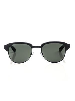 Metal and acetate combo sunglasses
