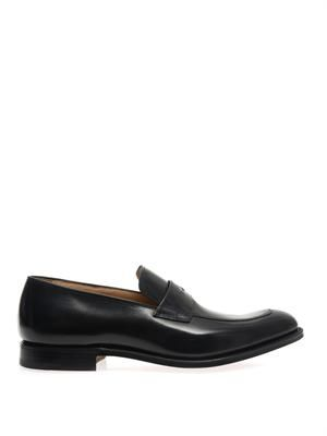 Prague leather loafers