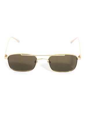 Square-framed sunglasses