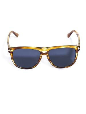 Lennon stripe sunglasses