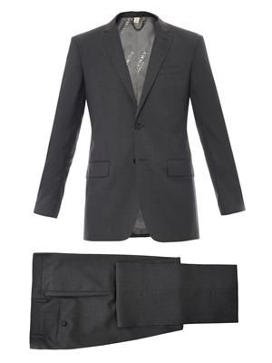 Millbury two-button suit
