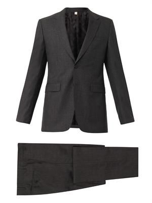 Millbank two-button wool suit