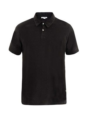 Supima cotton standard polo top