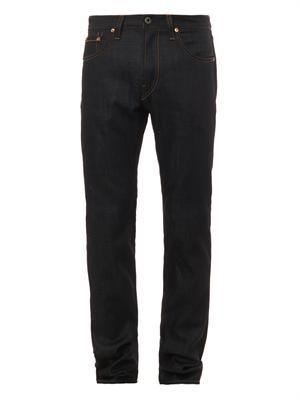 Kane slim straight-leg jeans