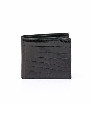 Crocodile bi-fold wallet