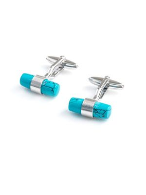 Interchangeable bar cufflinks