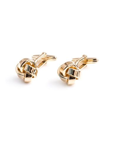 WISHLIST | Lanvin Solid knot cufflinks