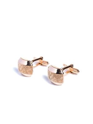 Hexagon shaped cufflinks
