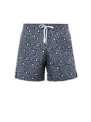 Eagle Ray jacquard swim shorts