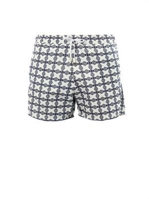 Parasol jacquard swim shorts