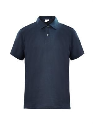 Cotton-jersey polo shirt