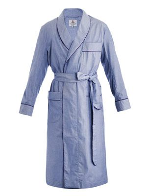 Fil-a-fil bath robe