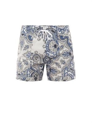 Sorrento paisley swim shorts