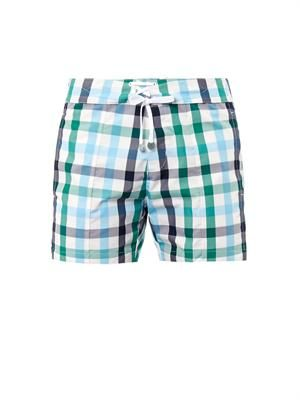 Sorrento tartan swim shorts