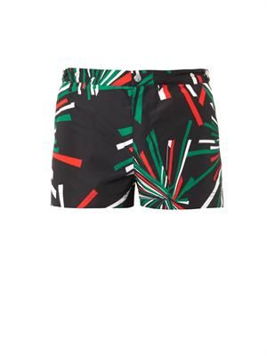 Oxford Court swim shorts
