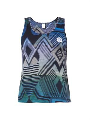 Robert psyche-print cotton tank