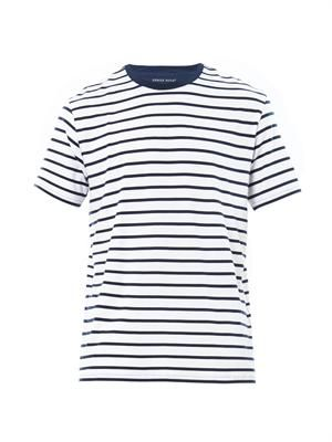 Alfie striped crew-neck T-shirt