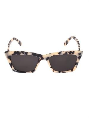 Seoul angular cat-eye sunglasses